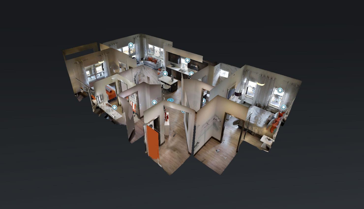 floorplan - Blu Harbor Apartments