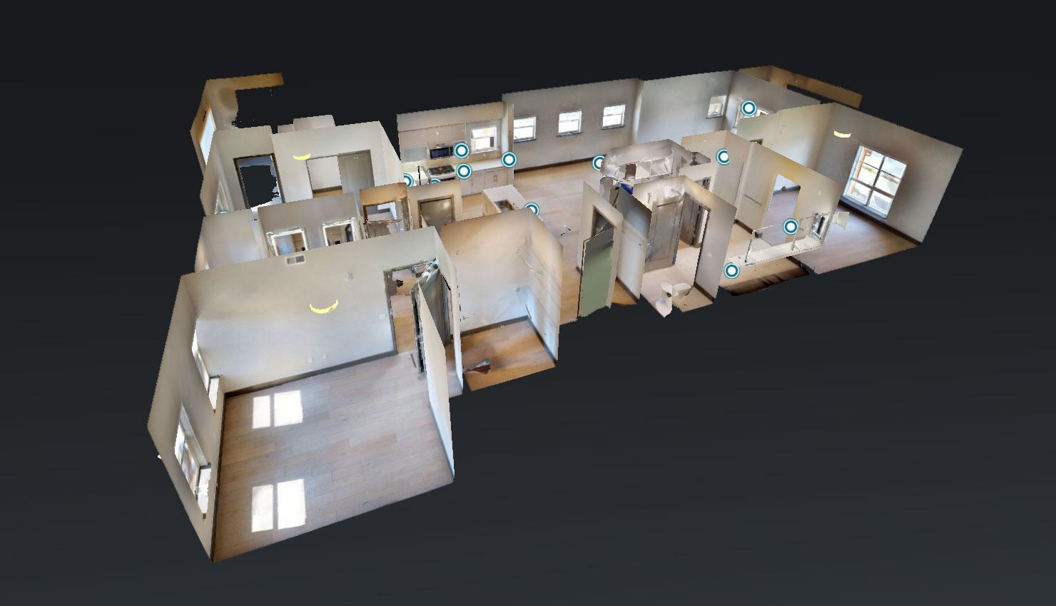 floor plan - Blu Harbor Apartments